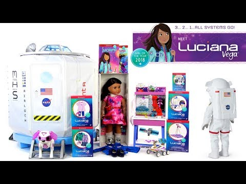 American Girl 2018 Girl of the Year   Luciana Vega Collection   NEW GOTY  Doll
