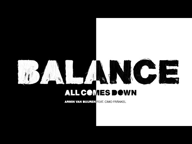 Armin van Buuren feat. Cimo Fränkel - All Comes Down (Lyric Video)