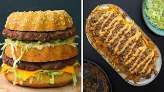 8 Big Mac Inspired Recipes  | Fast Food Favorites | Twisted