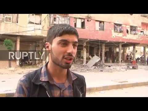 Syria: Douma residents speak about life under rule of militants