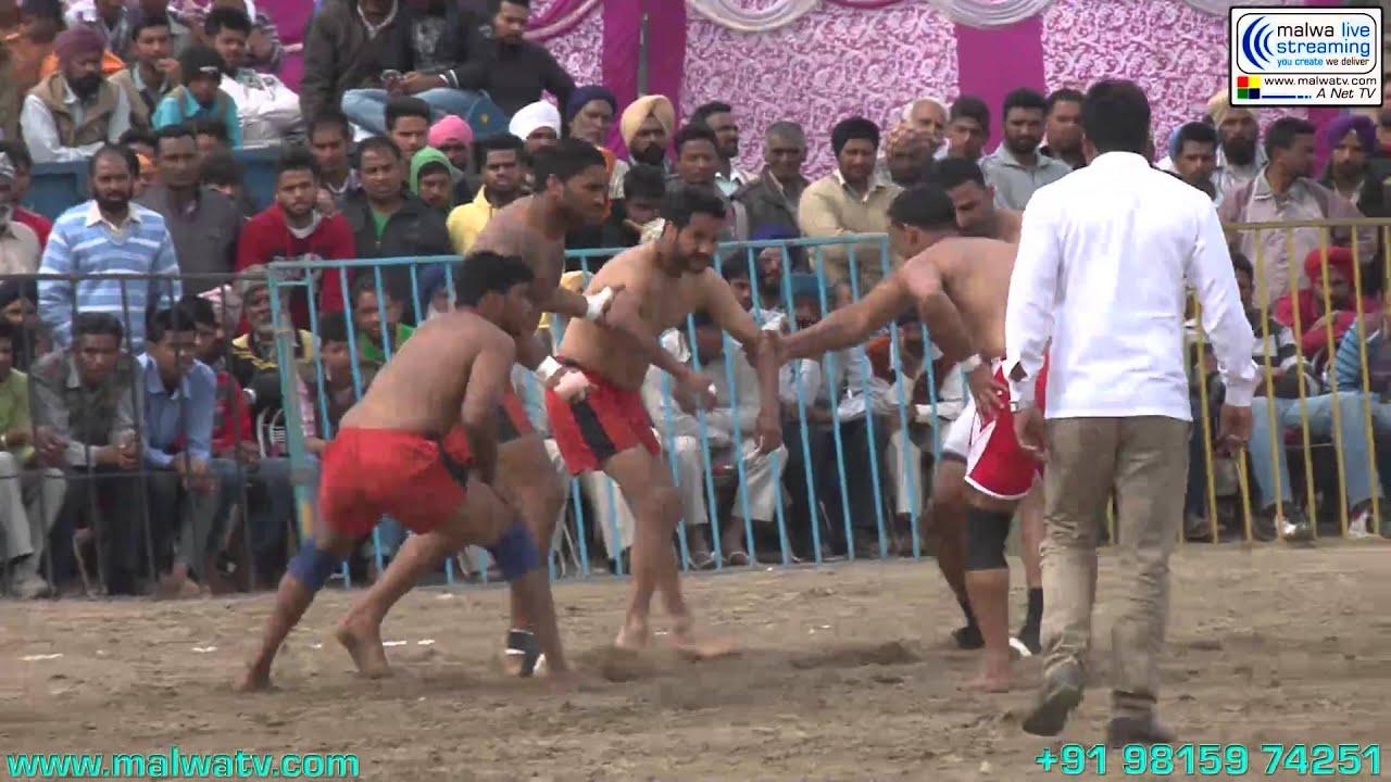 ARAICHAN (Doraha-Ludhiana) Kabaddi Cup - 2014. Part 1st.