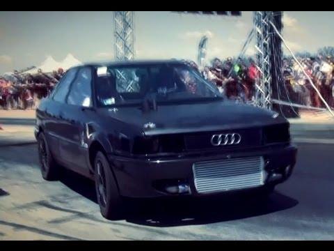 BMW E30 Turbo Breki Vs. Audi 80 Quattro Turbo 680 HP