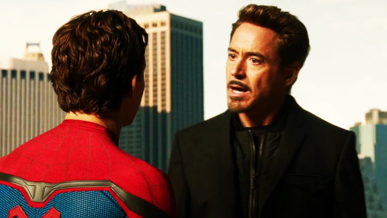 spider-man homecoming (2017) tony stark takes back spider man suit