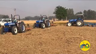 New Holland 5630 4wd & 6010 excel