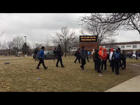 3 arrested after fight at Detroit high school