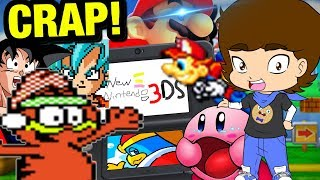 Nintendo 3DS 208-in-1 BOOTLEG CRAP CARTRIDGE! - ConnerTheWaffle