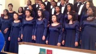 Cass Tech High School Concert Choir- My God Is So High by Courtney Carey