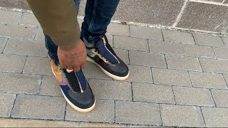 """HoW TO SWAG OUT THE TRAVIS SCOTT AKA """" CACTUS JACK """" AIR FORCE 1'S/ ON FEET/ OUTFIT OF THE DAY"""