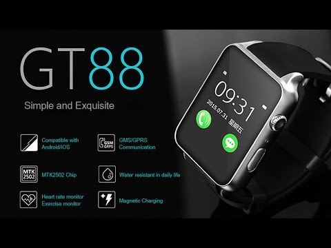 Часы телефон smart watch gt88 nfc