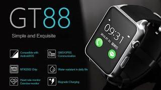 [unbox] Nouvelle smartwatch Android/Apple GT88