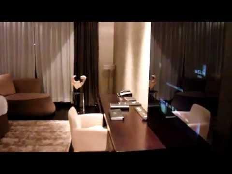 Hotel Meliá Dubai - Room 602, Bed, Bathroom
