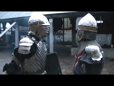 Medieval Combat Training: Duke Aveloc vs. Sir Avery