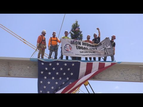 Press Conference: The New SLC Airport Topping Out Ceremony