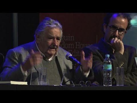 Former Uruguayan president Mujica launches biogragphy