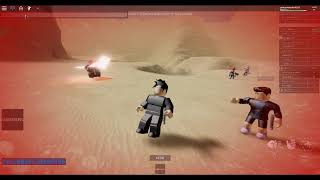 roblox Star Wars: Lightsaber Battles II:me vs speed hacker