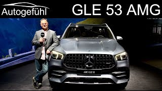 Mercedes GLE 53 AMG REVIEW Mercedes-AMG - Autogefühl