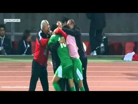 Younis Mahmoud goal against UAE in the final - Gulf Cup of Nations 2013