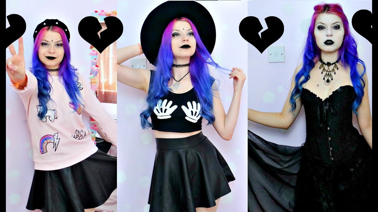 4e38887e6f67 Types Of Goth (LookBook) - YouTube