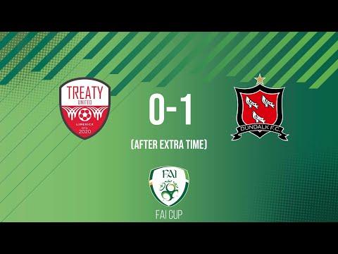FAI Cup First Round: Treaty United 0-1 Dundalk - (AET)