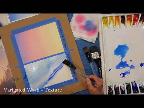 Learn Watercolor Series - Washes (Part 3)