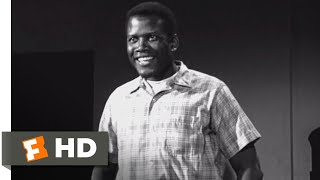 Lilies of the Field (1963) - English Lesson Scene (3/12) | Movieclips