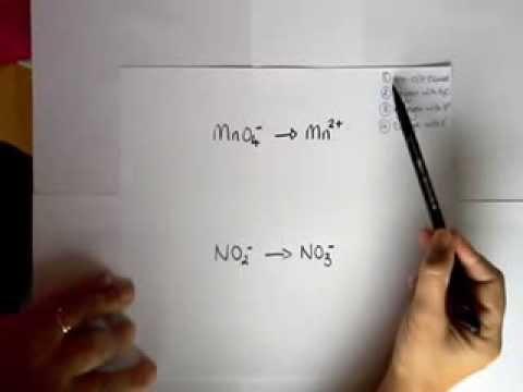 KECChem Balancing 1/2 Equations MnO4-/Mn2+