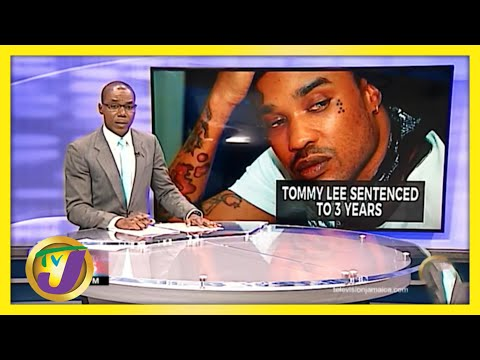 Jamaican Dancehall Artiste Tommy Lee Sentenced to 3 Years   TVJ News