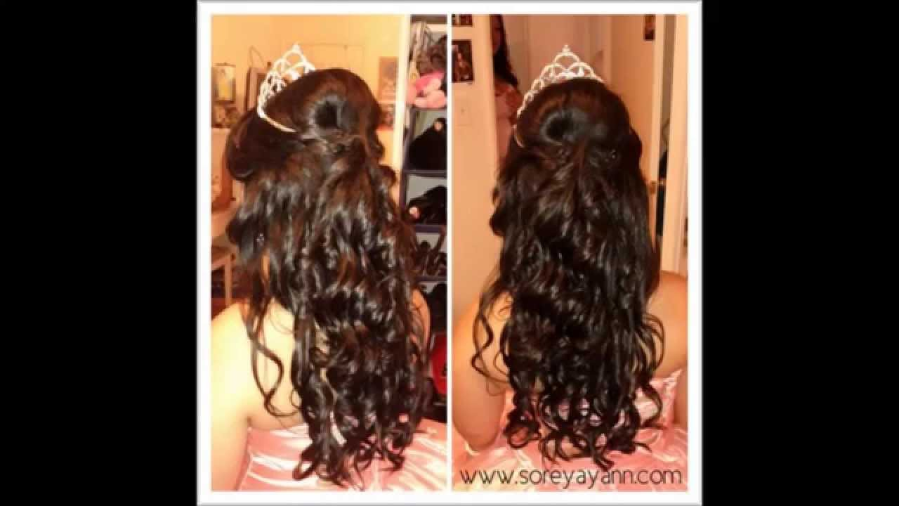 Hairstyles For A Quinceanera Quinceanera Dresses Hairstyles 2014 Youtube