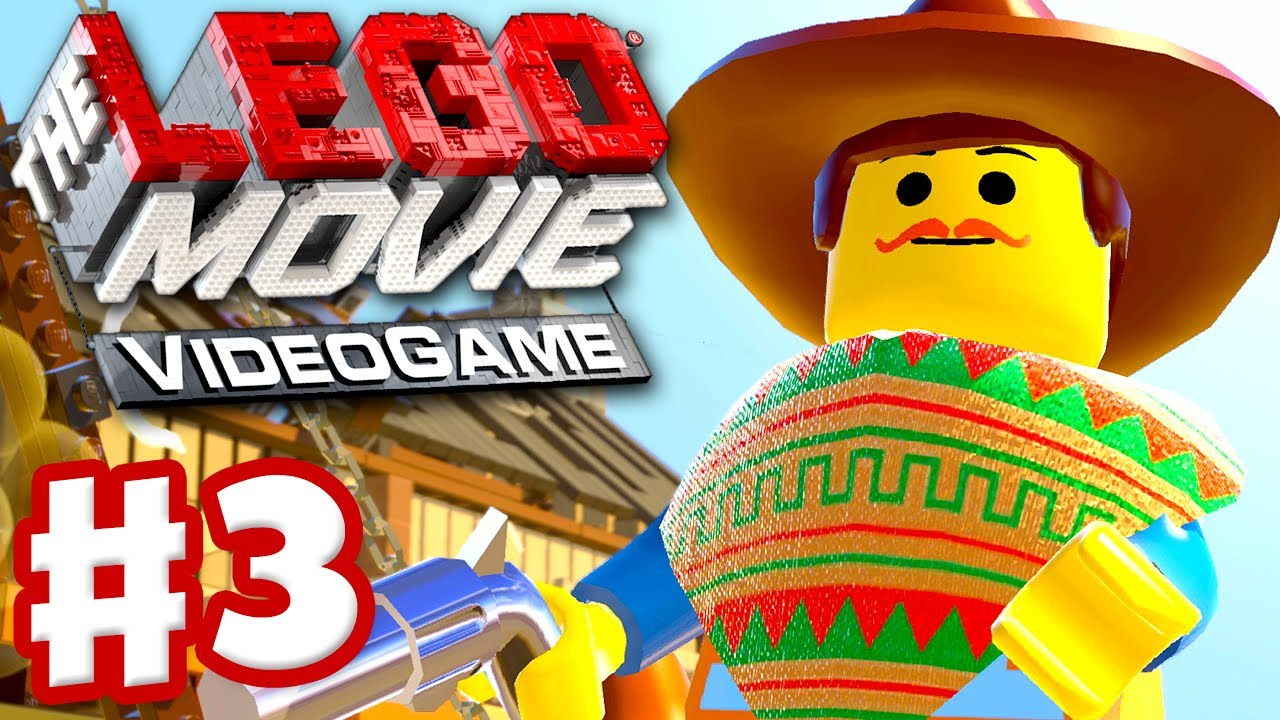 The Lego Movie Videogame Gameplay Walkthrough Part 3 The Old West Pc Xbox One Ps4 Youtube