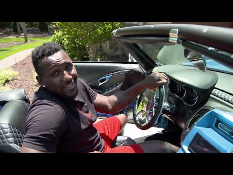 Thomas Davis Shows Off His Custom Cars