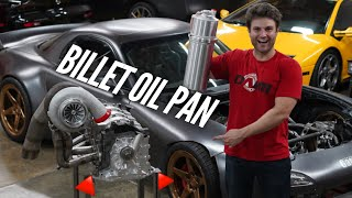 The WIDEST Billet Oil Pan is Here! Running the 4 Rotor outside of the AWD Chassis