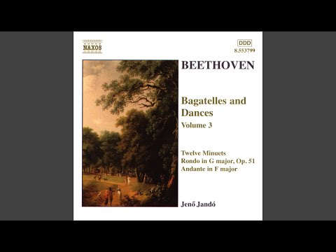 12 Minuets, WoO 7 (version For Piano) : IX. Minuet In G Major