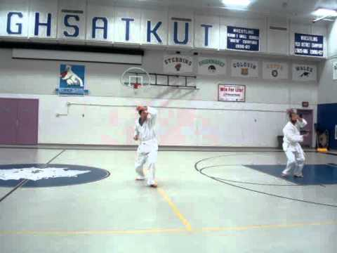 Shotokan Karate Heian Shodan Gambell, Alaska