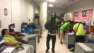 Harlem shake pejabat kesihatan hulu langat