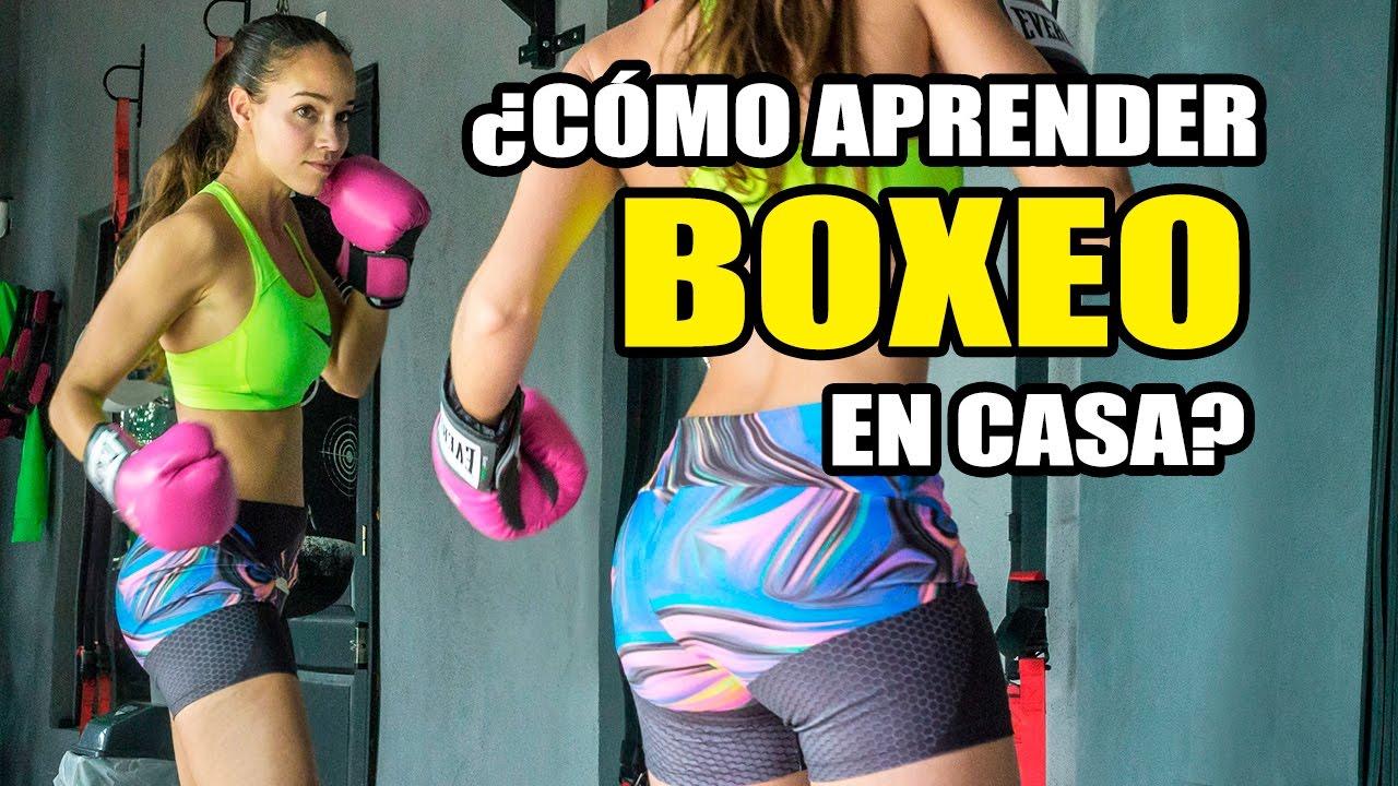 Aprender Boxeo En Casa Ejercicios Básicos Boxeo Para Chicas Y Chicos Youtube