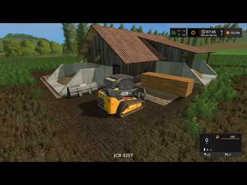 Farming simulator 2017 Timelapse #6 | Logging on The valley the old farm