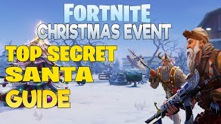 Frostnite Event - Top Secret Santa Guide - Fortnite Save The World - Christmas Event