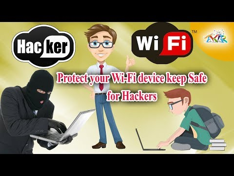 Protect your WiFi & keep safe for hacker, security risks avoid to keep your WiFi safe from hackers