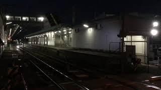 名鉄空港線 架線支障当該2000系回送