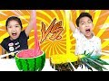 SLIME VS FRUIT Giant Fruit Slime Smoothie Watermelon Slime VS Pineapple Slime So Satisfying mp3