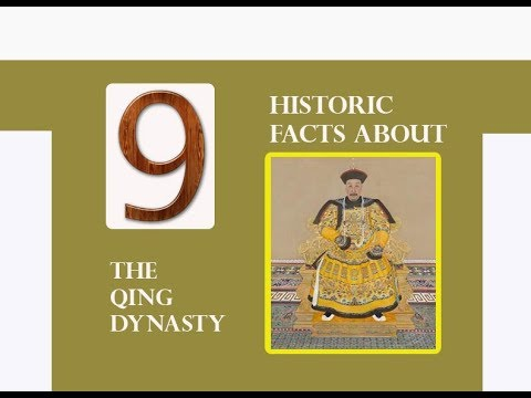 9 HISTORIC FACTS ABOUT THE QING DYNASTY