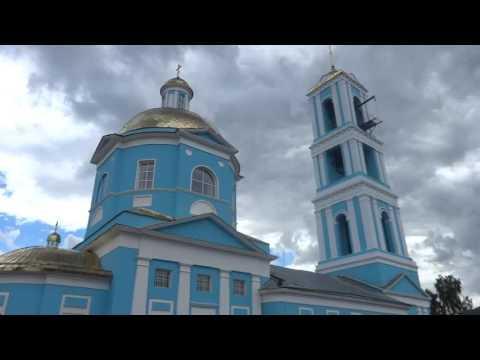 Город Кашира. 2016г. 100км. от Москвы.  Kashira Town.  Russia