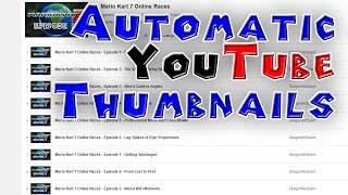 Automatic YouTube Thumbnail Generator