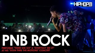 """PnB Rock Performs """"There She Go"""" & """"Everyday We Lit"""" at His """"GTTM: Goin Thru The Motions"""" Concert"""