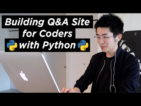 I Created a New Q&A Website for Coders with Python   Devlog #1