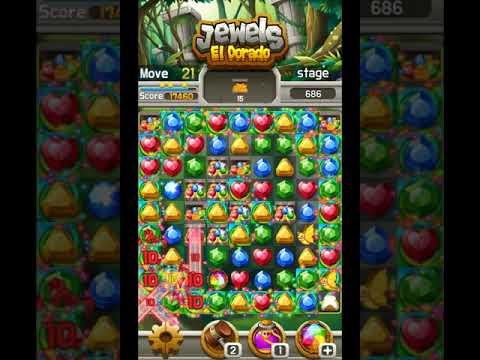 Jewels El Dorado : Free Match 3 Puzzle (쥬얼스 엘도라도)
