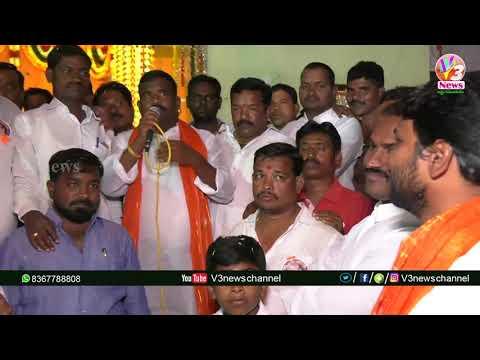Balapur BC Youth Ganesh Utsavalu || V3 News Channel