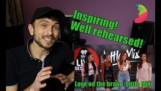 Vocal coach YAZIK recats to Little Mix - Love on the brain by Rihanna
