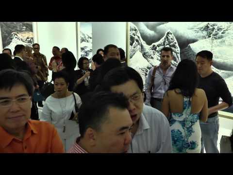 Liu Kuosung Asia Tour Exhibition in MoCA@Loewen, SIngapore, 16th Jan 2015