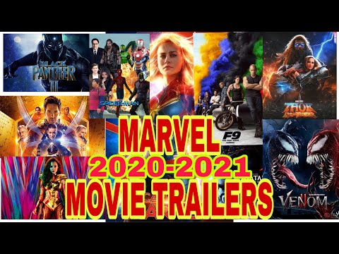 The BEST MARVEL Movie Trailers 2020-2021